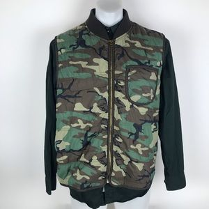 Denim supply Ralph Lauren camo vest size XXL